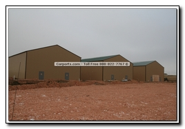 Steel Warehouse Pictures while being built